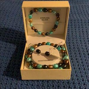 Jewelry - Fresh water pearl 3 Piece set